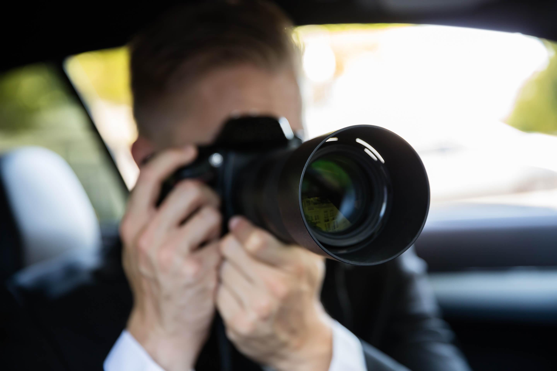 Privatdetektiv von Renta Security Bremen bei der Arbeit